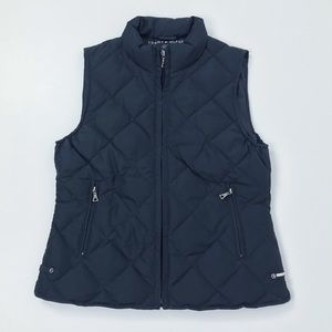 Tommy Hilfiger Quilted Down Navy Vest